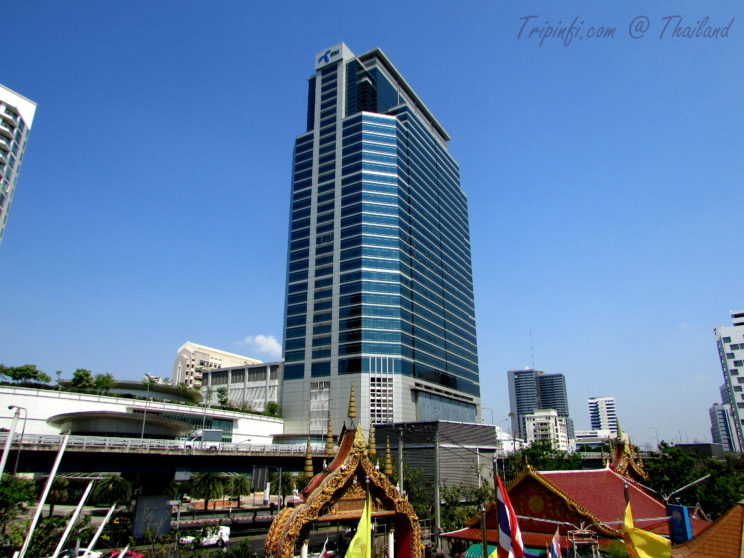 High Rising Buildings in Bangkok (Krung Thep ), Thailand - Trip from India | Travelogue | Places to visit in Bangkok