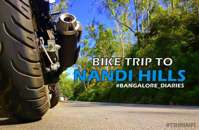 A bike trip to Nandi Hills