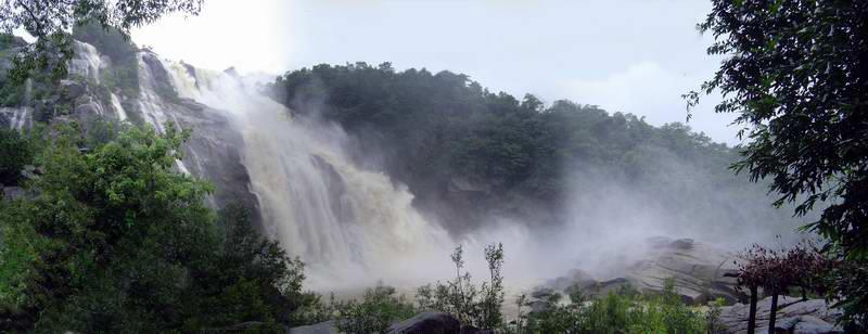 A view of Hundru Falls