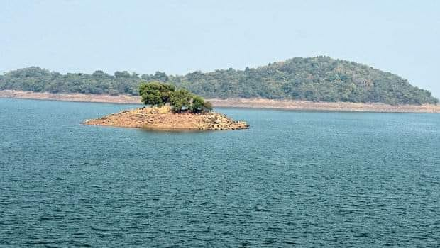 Maithon Dam and Lake