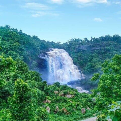 View of Hirni Fall Jharkhand - Tripinfi