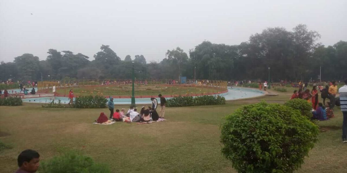 Rose garden at Jubilee park, Jamshedpur