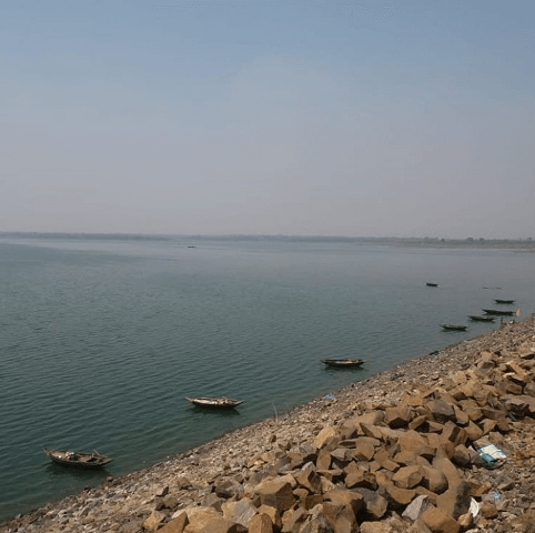 View of Panchet Dam - Tripinfi