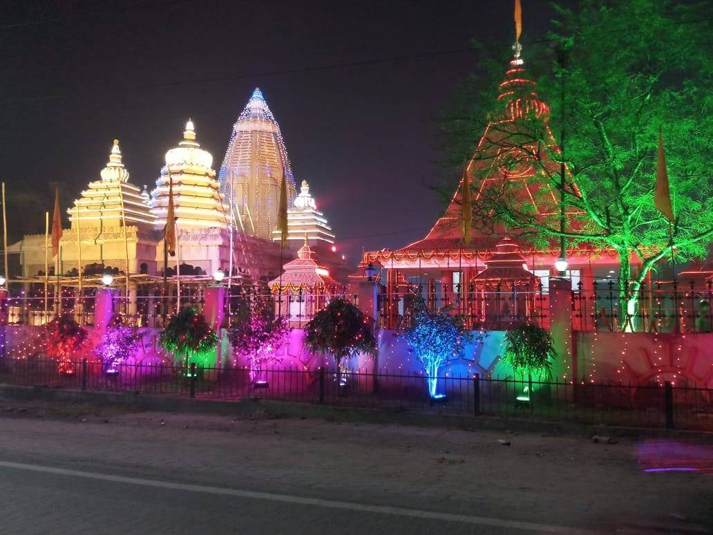 Surya Mandir Night Decor - Tripinfi