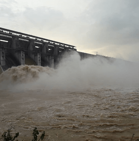 Tenughat Dam during rainy season - Tripinfi