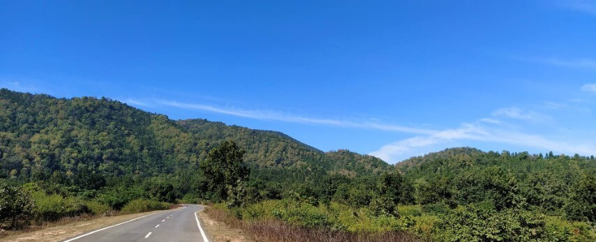 Way to Lodh Fall - Tripinfi