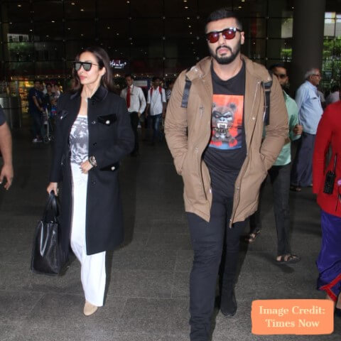 Arjun and Malaika, Top 10 Airport Looks of Bollywood Couples For Your Next Trip - Tripinfi