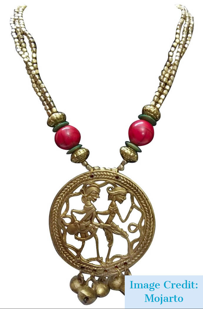 Dhokra Tribal Jewellery  - Tripinfi