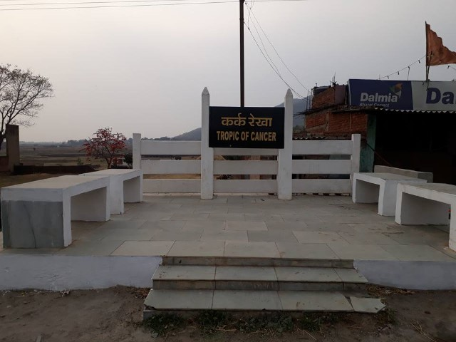 tropic of cancer Jharkhand - Tripinfi