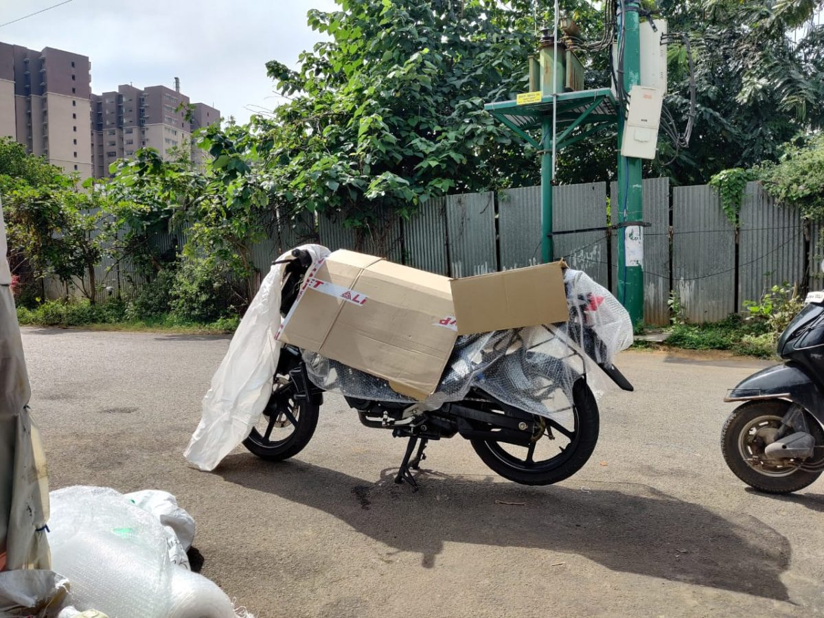 Step by step guide to pack your bike for parcel